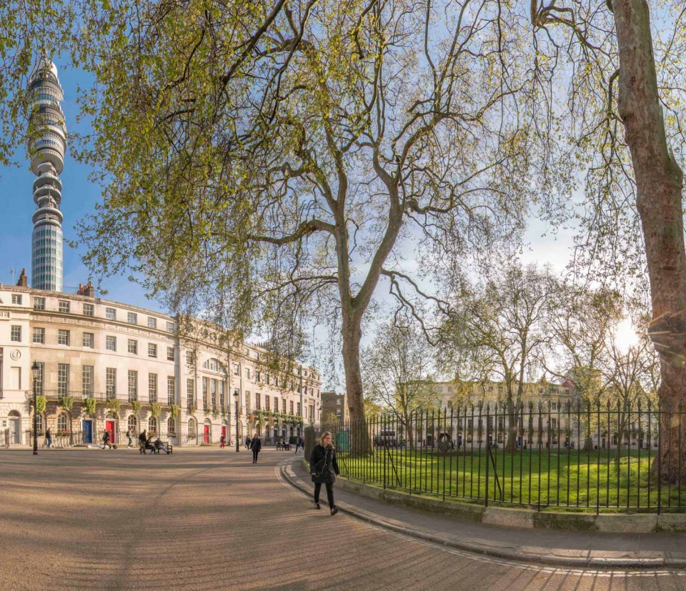 Fitzroy Square, Fitzrovia, London